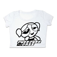PowerPuff Girl * Puff Puff Pass * Crop Top Tshirt