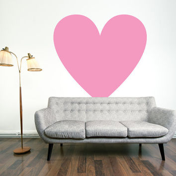 Vinyl Wall Decal Sticker Art, I Heart You
