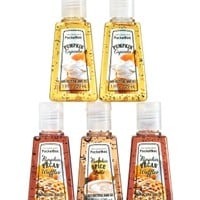 5-Pack PocketBac Sanitizers Pumpkin Café