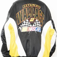 90'S SATIN NASCAR TEAM JACKET