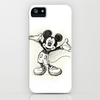 Mickey Mouse iPhone & iPod Case by MaithaDemithan