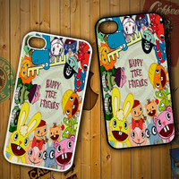 happy tree friends  character Z0900 LG G2 G3, Nexus 4 5, Xperia Z2, iPhone 4S 5S 5C 6 6 Plus, iPod 4 5 Case