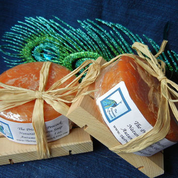 Sparkling Autumn Magic Scented Natural Glycerin Soap