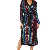 Shining Nights Cardigan Dress