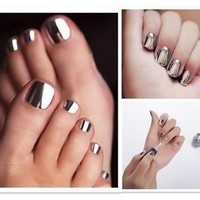 Fashion  Sexy New Metallics Nail Polish Mirror Nail Polish