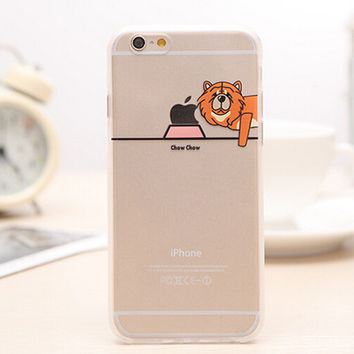 Eat Apple's Dog iPhone 5s 6 6s Plus Case Gift-99