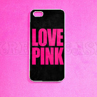 iPhone 5 Case, Love Pink  iPhone 5 Case for iPhone 5