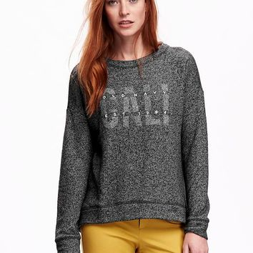 Old Navy Logo Crew Neck Sweatshirt