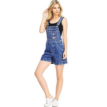 Cargo Denim Shortalls