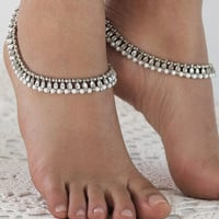 Forever Soles Shanti Silver Anklet