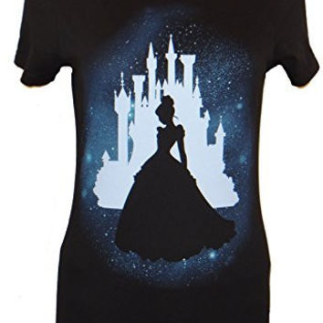 Disney Cinderella Star Silhouette Juniors T-shirt