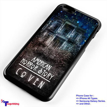 American Horror Story Coven - Personalized iPhone 7 Case, iPhone 6/6S Plus, 5 5S SE, 7S Plus, Samsung Galaxy S5 S6 S7 S8 Case, and Other