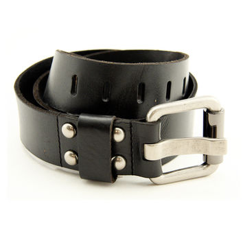 Bill Adler Black Leather Utility Belt
