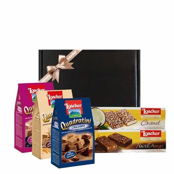Loacker Assorted Italian Wafer & Cookies Gift
