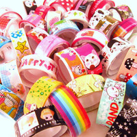 Kawaii Cute Deco Tape Supply
