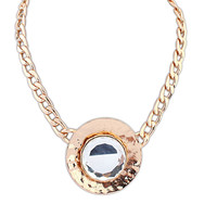 New Arrival Gift Jewelry Shiny Stylish Fashion Simple Design Necklace [4918855044]