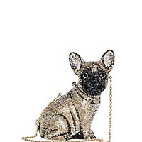 Judith Leiber - Pierre French Bulldog Crystal Clutch - Saks Fifth Avenue Mobile