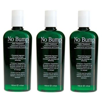 GiGi Hair Waxing No Bump Topical Solution 4 oz (3 Pieces)