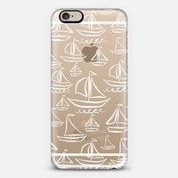 Sail Away (transparent) iPhone 6 case by Lisa Argyropoulos | Casetify