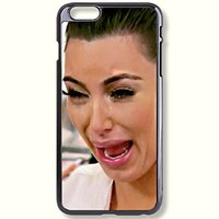 Pink Peri™ Kim Kardashian Crying Protective Hard Phone Case For iPhone 5c case
