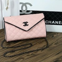 Chanel Women Fashion Leather Satchel Bag Shoulder Bag Crossbody