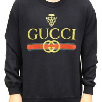 Versus - Gucci Classic Crewneck - Crewnecks, Versus, Sweaters & Crewnecks - KNYEW Clothing Boutique