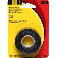 3M 3407NA Friction Tape, 0.708-Inch x 240-Inch