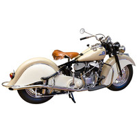 1946 Indian Chief Motorcycle, Exceptional Full Restoration