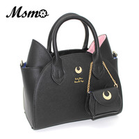 Black/White Sailor Moon Women's Luxury Bag