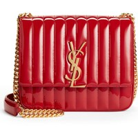 Saint Laurent Large Vicky Patent Leather Crossbody Bag | Nordstrom