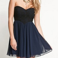 SWEET BLACK LACE DRESS