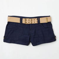 Safari Short Length Veggie Garden Grillin' Shorts in Dark Wash