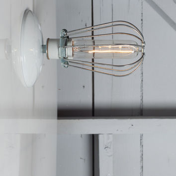 Cage Wall Sconce Light