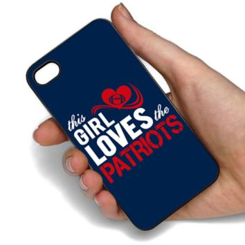 This Girl Loves The Patriots Phone Case For Samsung & iPhone