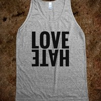 LOVE HATE TANK TOP (IDB611940)