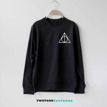 Deathly Hallows Shirt Harry Potter Sweatshirt Sweater Unisex