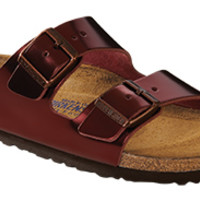 "Birkenstock <span class=""footbed"">Soft Footbed</span> <span class=""color"">Tourmaline</span> <span class=""material"">Leather</span> <span class=""silhouette"">Arizona</span>"