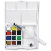 Koi Watercolor Pocket Field Sketch Box, 12 Colors - Walmart.com