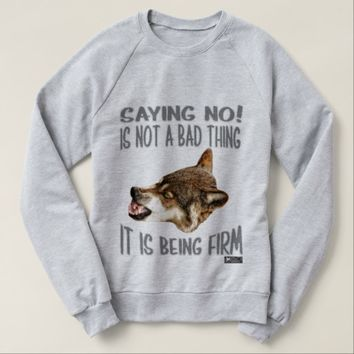 Firm Quote by Kat Worth Sweatshirt