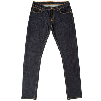 Nudie Jeans 111287 Tight Long John Twill Rinsed