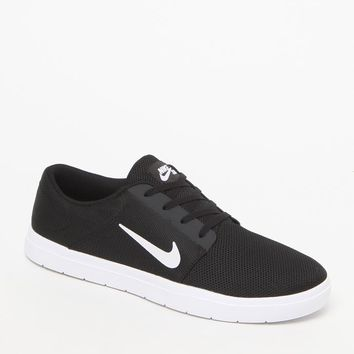 Nike SB Portmore Renew Black & Gray Shoes - Mens Shoes - Black