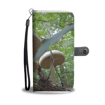 Under The Mushroom RFID Wallet Case