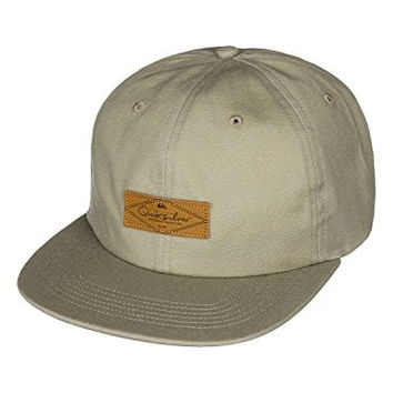 Quiksilver Mens Banders Adjustable Hat One Size Driftwood