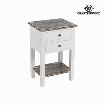 Bedside table 2 drawers by Craften Wood