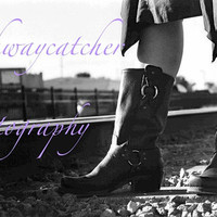 Cow Girl Boots Digital Image Photography Download