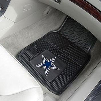 FANM-8274-NFL - Dallas Cowboys 2-pc Vinyl Car Mats 17\x27\