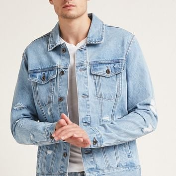Faded Denim Jacket
