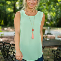 Always Bright Tank, Green