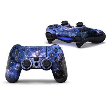 Fashional Stickers Colorful Sticker Cover for Sony Playstation 4 Cotroller Skin Sticker Anti-scratch for PS4 Controller