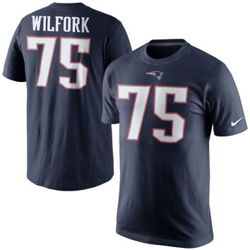 Vince Wilfork New England Patriots Nike Player Pride Name & Number T-Shirt – Navy Blue